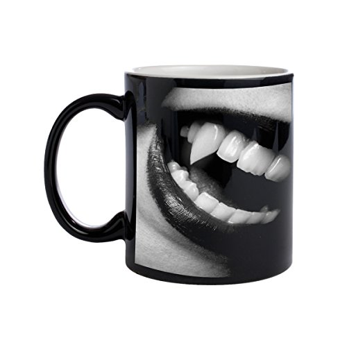 Vampire Lips Heat Morph Coffee Cup Mug