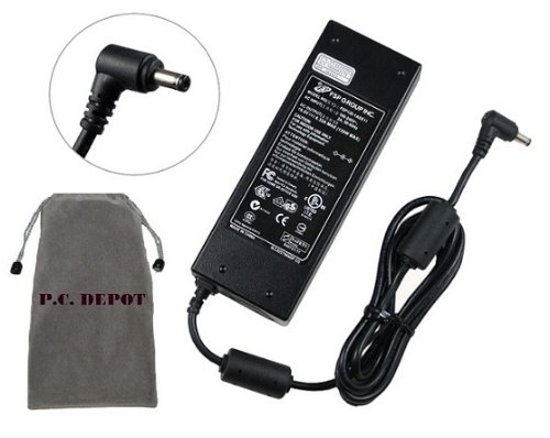 Bundle: 3 items - Adapter/Power Cord/Free Carry Bag :New Replacement AC Adapter 19V 6.32A 120W for MSI:GE620DX-280US,GT640,GT640-287US,GT725,GT725-074US,GT725-075US,GT725-212US,GT729,GT735,GT735-024US,GT740,GX600,GX610,GX620,GX620-001US,GX620-098US,GX630,100% Compatible with P/N:957-163A1P-101,PA-1121-04,ADP-120ZB, ADP-120ZB BB.