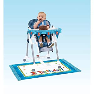 Amazon.com: Boys First Birthday Party High Chair Decorating Kit: Toys ...