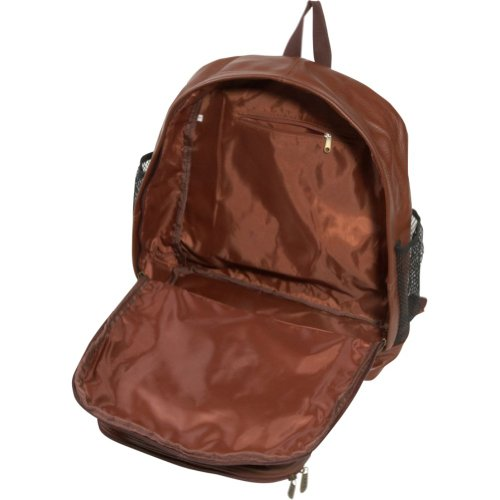 AmeriLeather Traditional Leather Backpack (Brown)