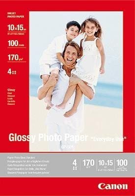 Canon GP 501 Glossy Photo Paper, 100 x 150 mm, 100 Sheets