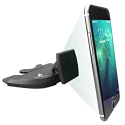 #1 Magnetic Phone Mount CD Slot   iPhone 6 Car Mount   Universal Magnet Car Cell Phone Holder for iPhone 6S 6 Plus 6 5 5S 5C Samsung Galaxy HTC One Sony Nokia & Other Smartphones