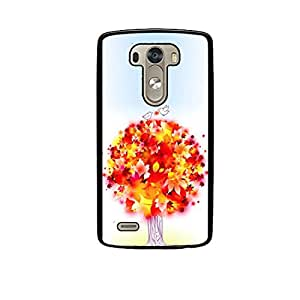Vibhar printed case back cover for LG G3 ColorfulTree