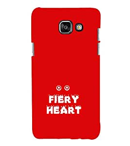 EPICCASE fiery heart Mobile Back Case Cover For Samsung Galaxy A5 (2016) (Designer Case)