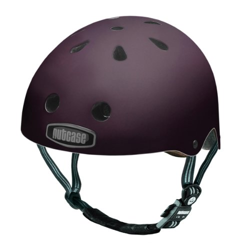 nutcase Lifestyle Fahrradhelm super solid gen2 purple hart Picture