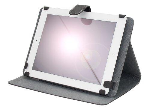 "M0455 Universal Konkis Leder Tablet PC Bookstyle Tasche für Samsung Galaxy Tab 4 10.1 LTE, Samsung Galaxy Tab 4 10.1 3G, lenovo A10-70 3G, Sony Xperia Z2 Tablet, Archos 101 Neon, Odys IEOS Quad 25,7, Lenovo Ideatab S6000-H, Medion Livetab E10316 MD98516, IconBit NetTab Thor, lenovo ideaTab A2109A, Coby Kyros MID1045, Point of View mobii PL1015, Point of View ProTab 3XXL, Touchlet 9.7"" X10, Sony Xperia Tablet S, Trekstor SurfTab ventos 9.7, Asus VivoTab Smart, Acer Iconia Tab W510, Samsung Galaxy"