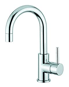 italian single handle sink faucet with swivel spout made