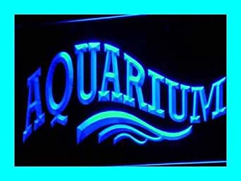 Open aquarium shop fish led sign neon light sign display for Fish neon sign