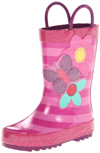 Western Chief Blossom Cutie Rain Boot (Toddler/Little Kid/Big Kid),Pink,9 M Us Toddler