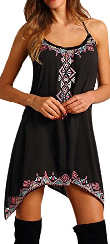 CXX Women Vogue Summer Sleeveless Casual Beach Floral Dress xl (Country Clothes compare prices)