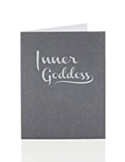 "Fifty Shades of Grey ""Inner Goddess"" Greetings Card"