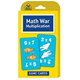 Math War Multiplication Game Cards by School Zone Publishing Company Staff