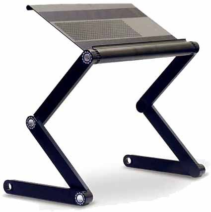 Adjustable Laptop Table Laptop Desk Portable Bed Tray Book Stand A4