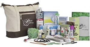 Deluxe Prepacked Hospital Labor Bag- Baby Shower Gift