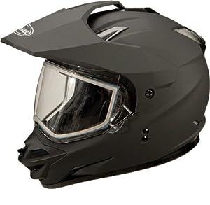 G-Max GM11S Solid Helmet , Distinct Name: Flat Black, Gender: Mens Unisex, Helmet... by Gmax