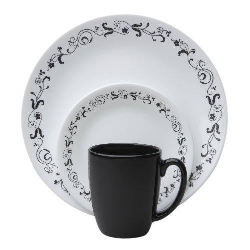Corelle 16-Piece Livingware Garden Getaway Dinnerware Set
