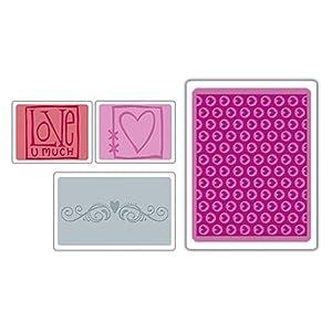 Sizzix Textured Impressions - Textured Impressions Love