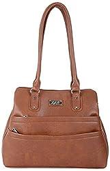 Zak Women's Handbag (Brown, ZDL101)