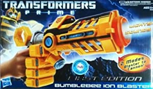 Transformers Prime ** Bumblebee Ion Blaster ** First Edition ** Lights & Sound