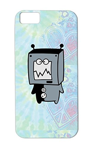 Vektorschmiede Doodles Tv Tine Gray Monster Tine Tv Abstract Robot Child Child Monitor Comic Baby Family Doodles Little For Iphone 5C Protective Case front-617299