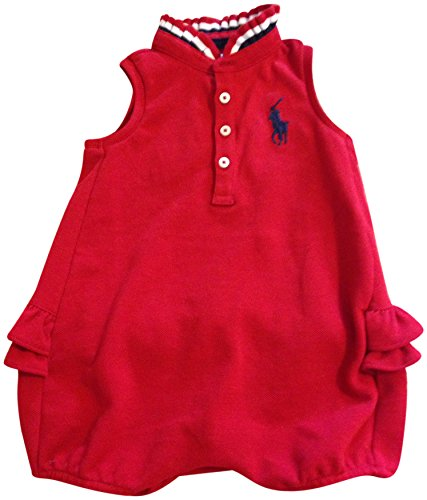 Polo Ralph Lauren Infant Girls Bodysuit 9M Red