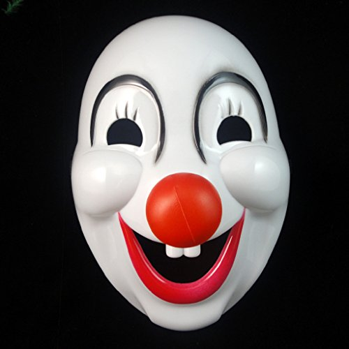 ACE Mask a Halloween party Hard plastic clown masks Halloween mask clown costume 46g