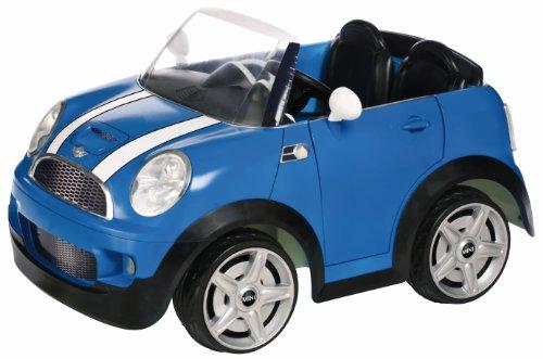 Kid Trax Mini Cooper 12V Ride-On Car, Blue