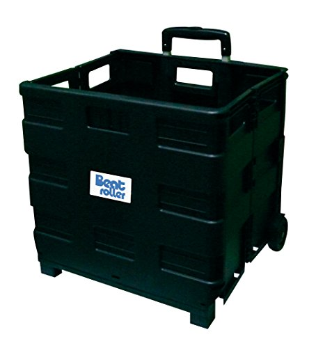 Beat Collection Roller Folding Container, Black
