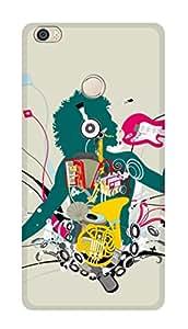 SWAG my CASE PRINTED BACK COVER FOR XIAOMI MI MAX Multicolor