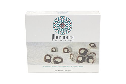 Marmara Authentic Nut Free Turkish Delight Candy / Sweet Confectionery Gourmet Gift Box Candy Dessert