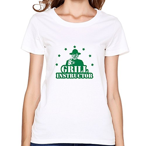 Mksd Women'S Grill Instructor T-Shirts White Us Size S