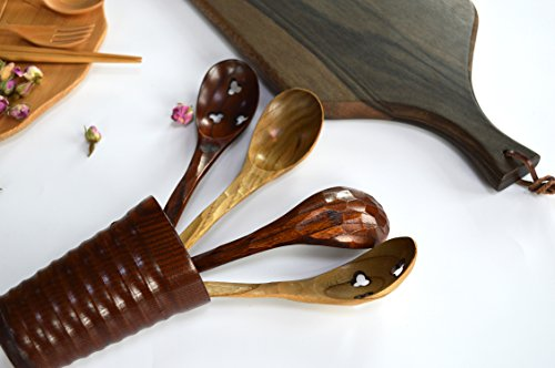 refee-78-handcrafted-wooden-soup-spoon-slotted-spoon-4-in-1