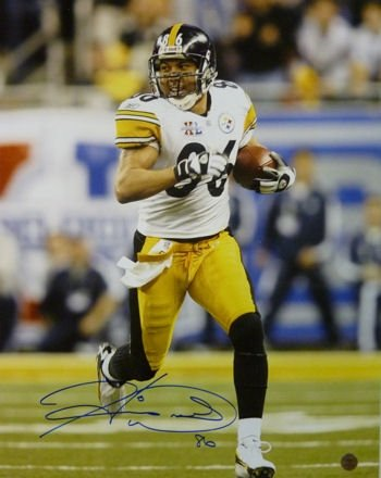 Hines Ward Autographed/Hand Signed Pittsburgh Steelers 16x20 Photo