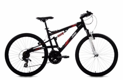 Jeep Renegade Men's Dual-Suspension Mountain Bike (26-Inch Wheels, 19-Inch Frame)