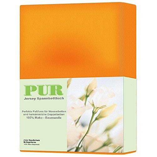 Spannbettlaken-Jersey-Qualitt-160gm-alle-Farben-3-Gren-Mako-Baumwolle-klassisches-Jersey-Spannbetttuch-fr-14-35-cm-Matratzenhhe-180-x-200-200-x-220-cm-orange-aqua-textil-0010190-Serie-PUR