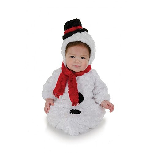 Infant Snowman Belly Baby Costume Size 0-6 Months