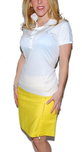 Polo Ralph Lauren Golf Womens Knee Length Yellow Skirt 2