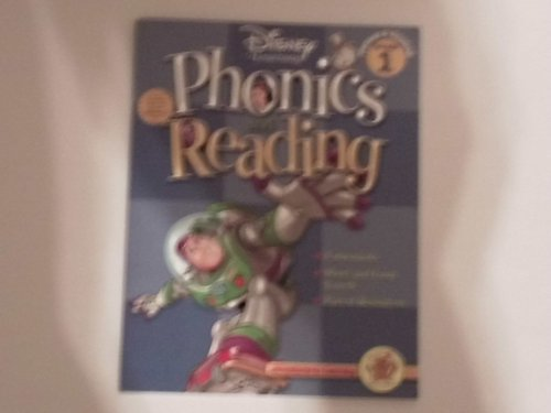 Disney Learning Phonics and Reading Grade 1 Work Book - 1