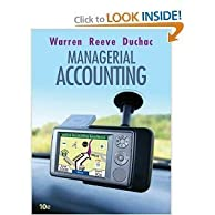 Thumbnail Managerial Accounting 10e