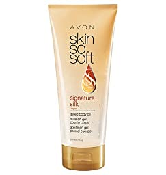 Skin So Soft Signature Silk +argan gelled body oil