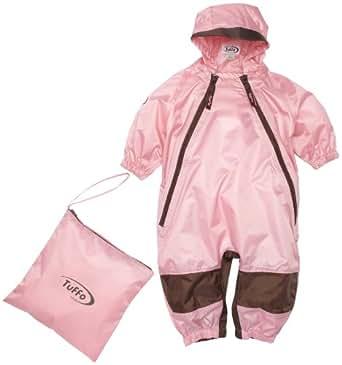Tuffo Muddy Buddy Overalls - Pink, 12 Months