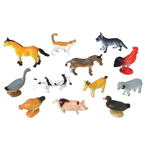 Mini Farm Animals (1 Dozen)