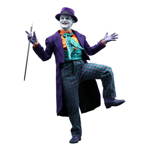 Hot Toys Batman 1989 Movie Masterpiece Deluxe Collectors 1/6 Scale DX08 Action Figure The Joker Jack Nicholson at Gotham City Store