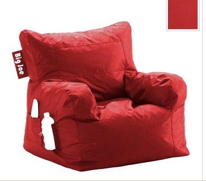 Big Joe Dorm Bean Bag Chair Color: Chili Pepper Red