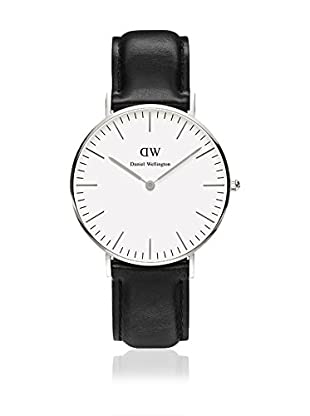 Daniel Wellington Reloj con movimiento cuarzo japonés Woman Classic Sheffield blanco/gris 34 mm