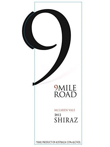 2012 9 Mile Road Mclaren Vale Shiraz 750 Ml