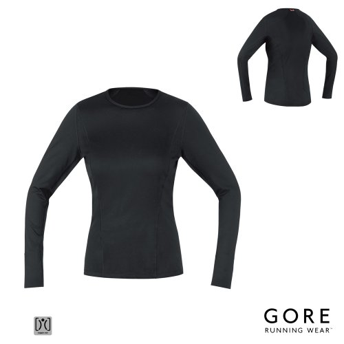 Gore Essential BL Womens Running Thermo LS Shirt