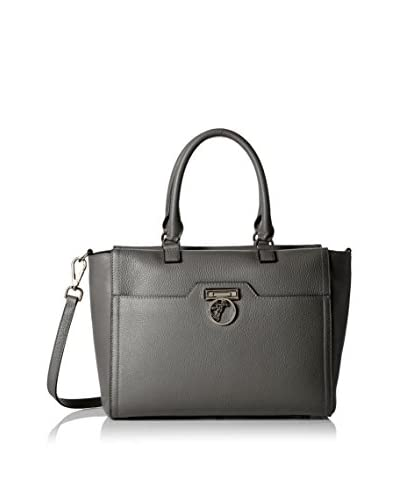 Versace Collection Women's Leather Tote, Gray