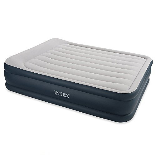 <p>Intex Deluxe Pillow Rest Raised - Cama hinchable con bomba eléctrica</p>