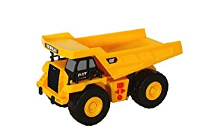 Toy State CAT Big Builder Dump Truck Lands Shaking